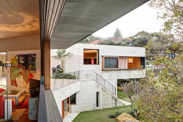 Coastal Garden House by Neeson Murcutt Architects.