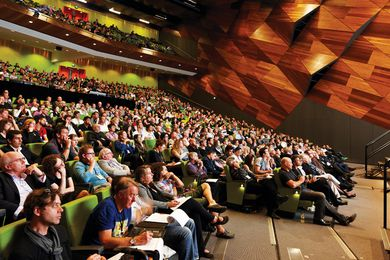 Delegates at Natural Artifice, held at the Melbourne Convention and Exhibition Centre.