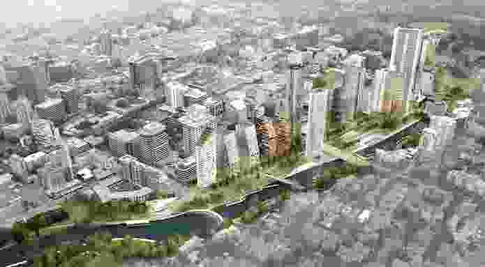 Parramatta City River Strategy by McGregor Coxall, in partnership with Parramatta City Council.