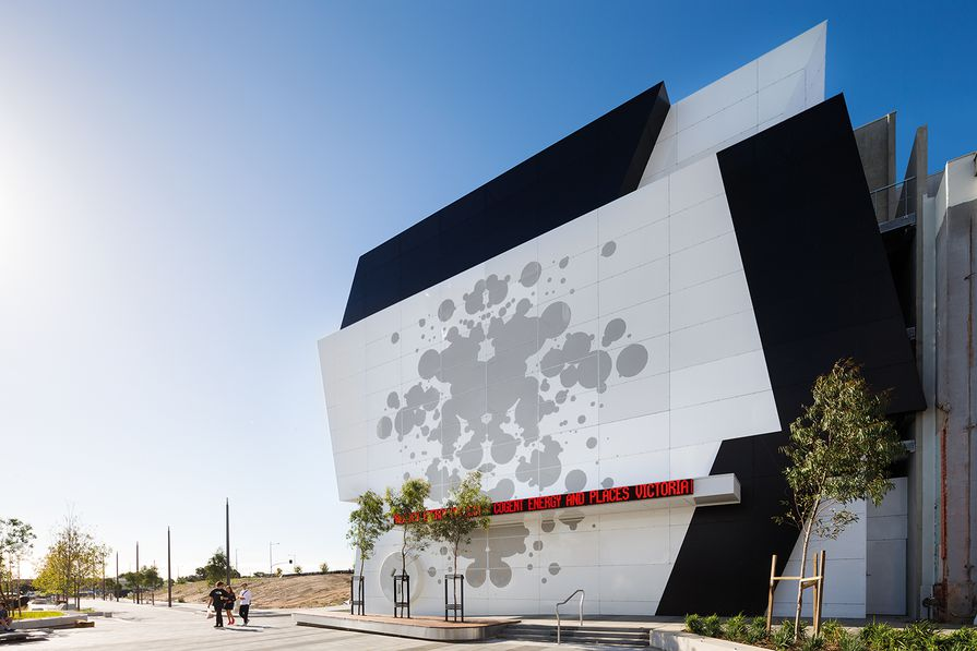 Dandenong Precinct Energy Project by PHTR Architects.