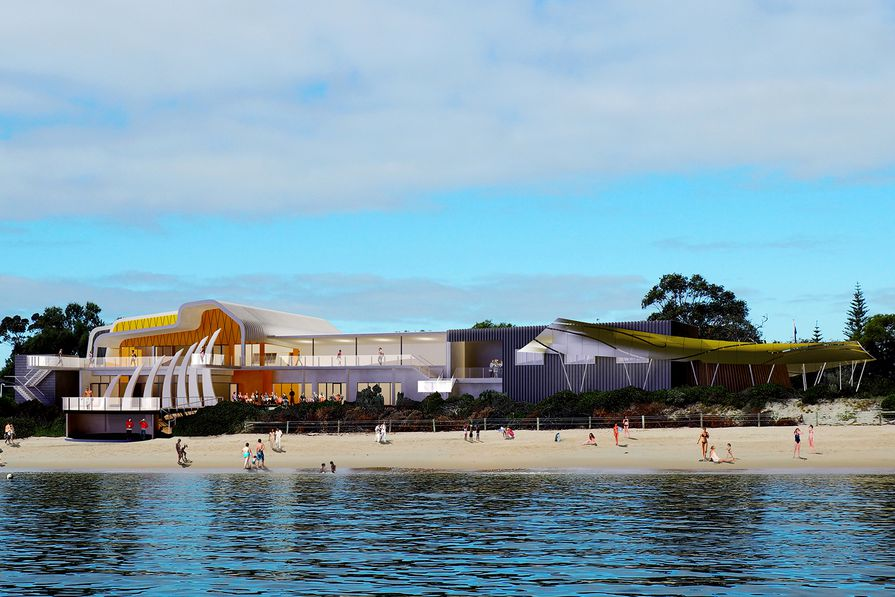 The Dolphin Discovery Centre by MCG Architects, part of the Transforming Bunbury's Waterfront project.