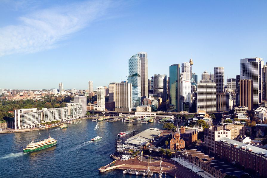 Quay Quarter precinct masterplanned by 3XN.