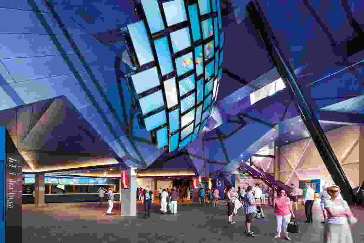 Perth Arena by ARM Architecture & Cameron Chisholm Nicol joint venture partners.