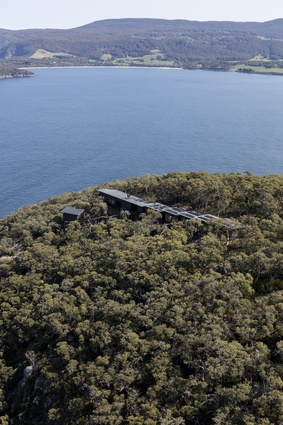 Three Capes Lodges by Andrew Burns Architects.