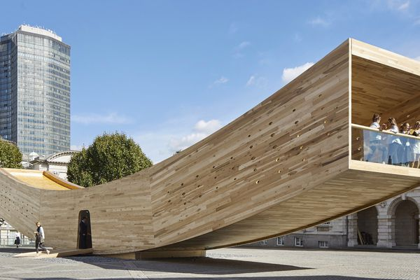 The Smile by Alison Brooks Architects.