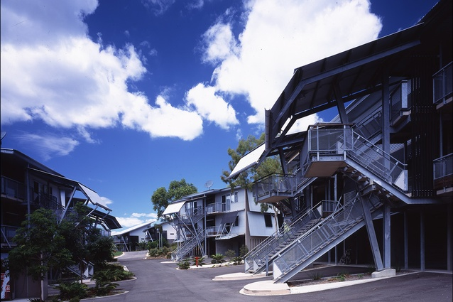 Lavarack Barracks in association with Bligh Voller Nield, Townsville, Qld, 1999–2001.