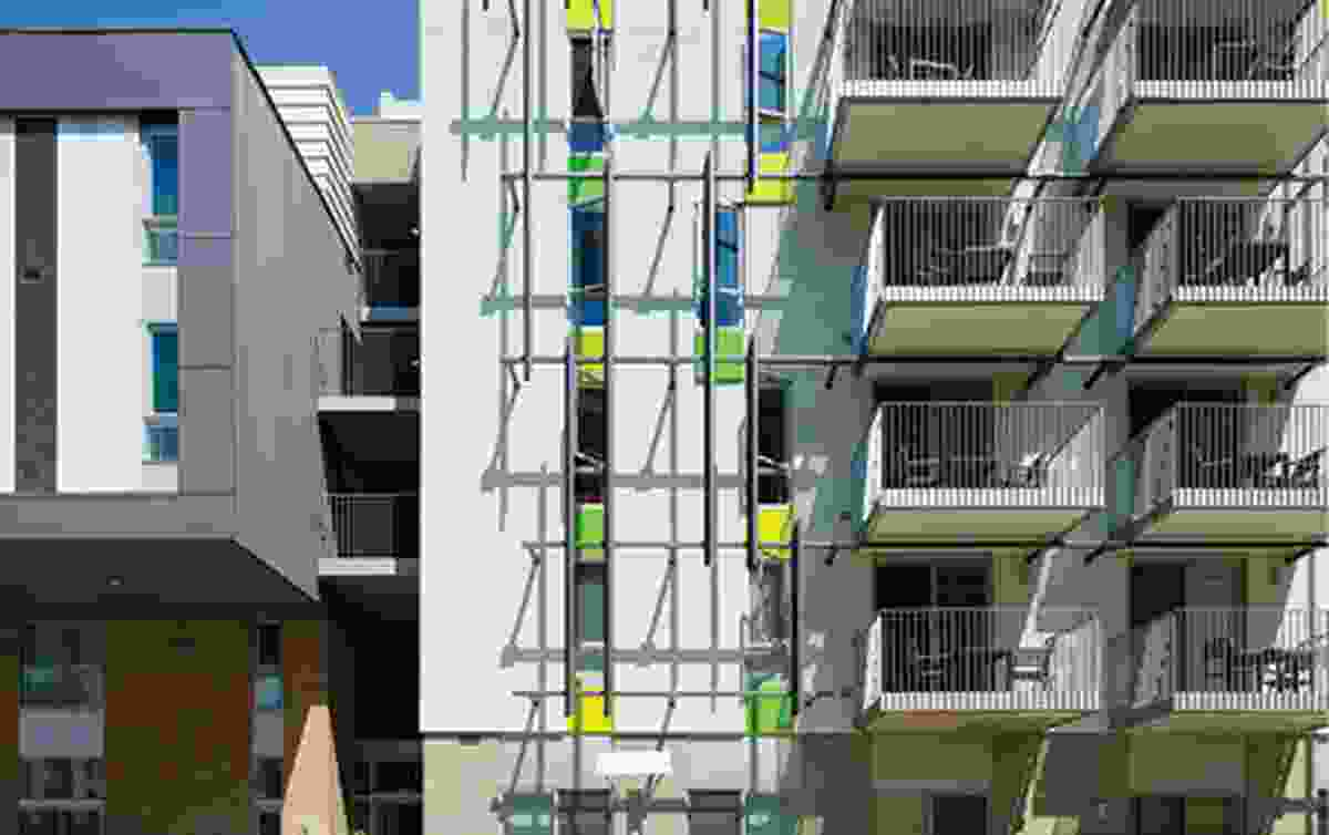 The Belmar Apartments in Santa Monica, California (2014).