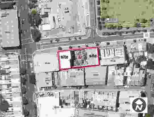 The site at 37 to 49 O'Connor Street in the up-and-coming Chippendale contains a warehouse that will be demolished to make way for the project.