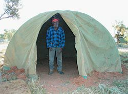 Dome tents were