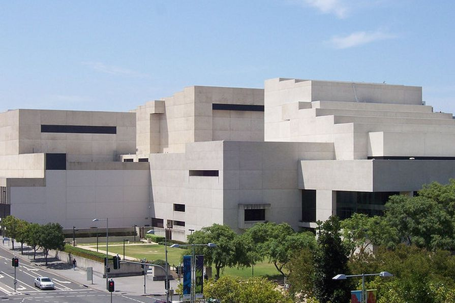 A new theatre is slated for the Queensland Performing Arts Centre originally designed by Robin Gibson and Partners (1985).