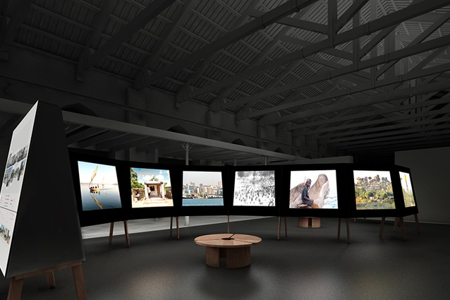 The first ever Mozambique exhibition at Venice Biennale, <i>Architecture between Two Worlds</i>.