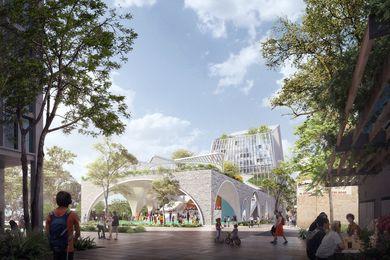 Durbach Block Jaggers's winning design for Penrith City Council's Soper Place development.