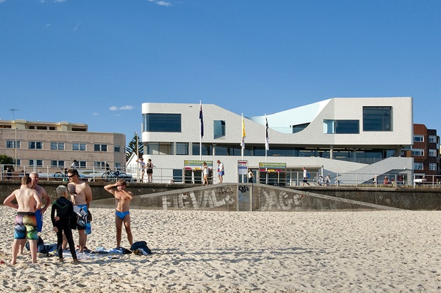 North Bondi Surf Life Saving Club by Durbach Block Jaggers in association with Peter Colquhoun.