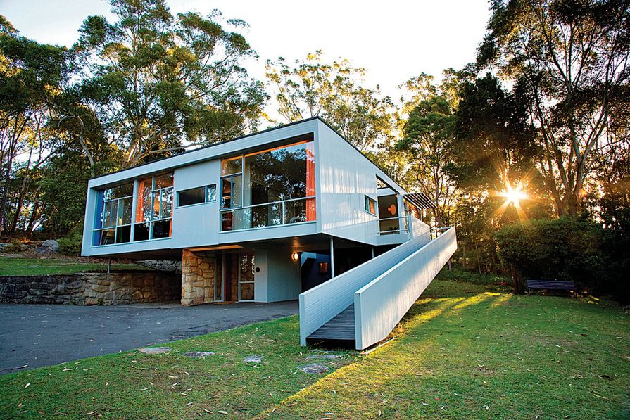 The Rose Seidler House today.