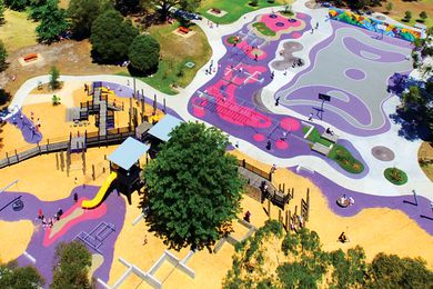 Ballam Bumps Regional Playspace by Playce.