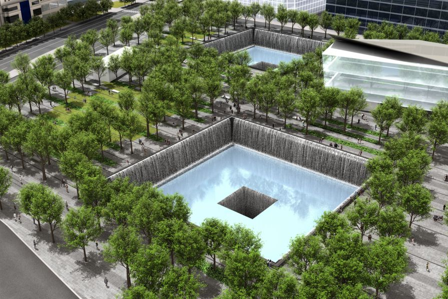 Ten Years On The 9 11 Memorial Opens Architectureau