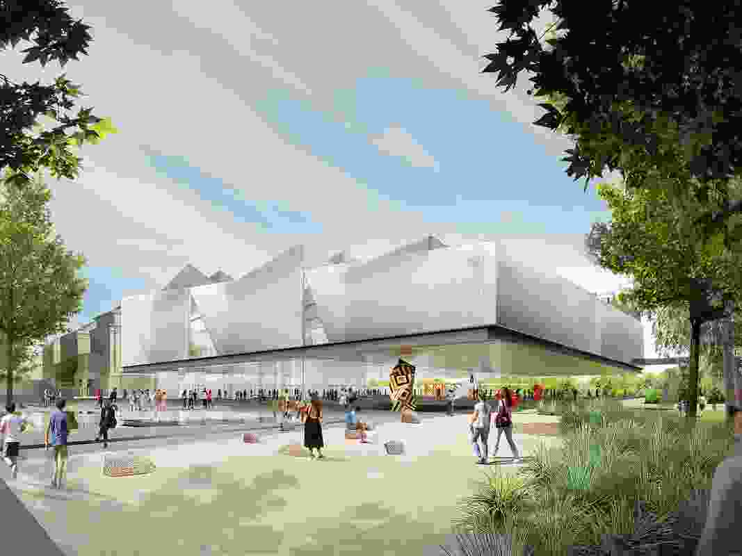 Proposal for Adelaide Contemporary by Diller Scofidio and Renfro and Woods Bagot.