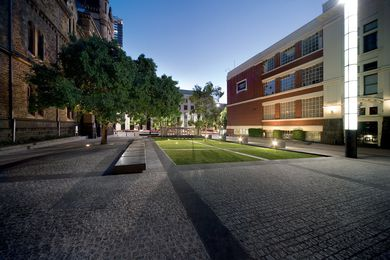 Sector 2. Ellis Court, looking south to La Trobe Street.