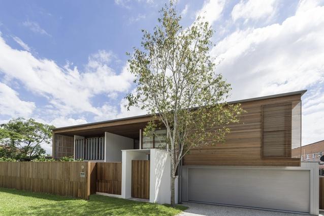 Backyard House by Joe Adsett Architects.