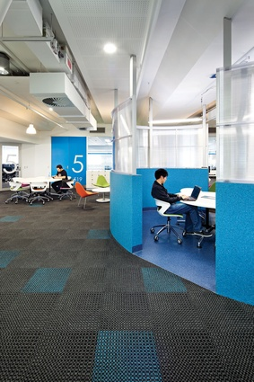 Nice Colour In Commercial Design U2013 QUT, S Block By Suters Architects.