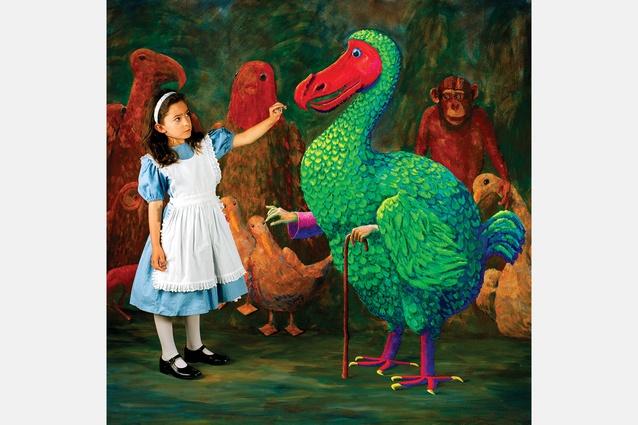 <em>Prize Thimble</em> from the <em>Wonderland</em> series, 2004, type C photograph, 105 × 105 cm, edition of 6.