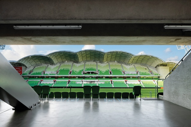 William Wardell Award AAMI Park by Cox Architecture.