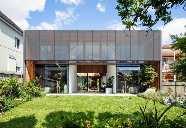 Courted House by Breakspear Architects.