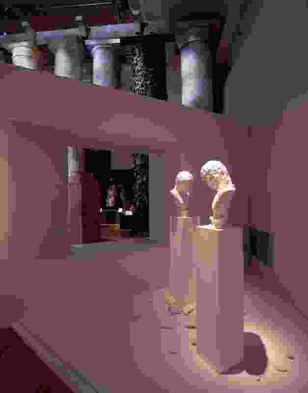 L'altra Figura, (1984) by Giulio Paolini.