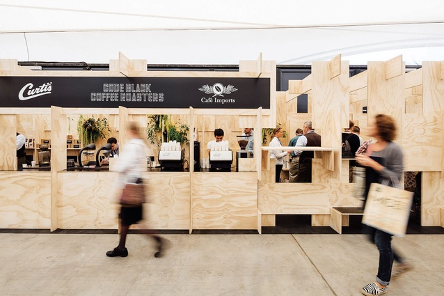Code Black – Melbourne International Coffee Expo (Flemington, Vic) by Zwei Interiors and Architecture