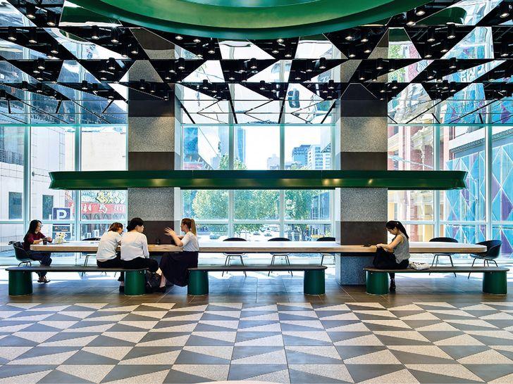 Pattern is king: Melbourne Central Arcade | ArchitectureAU