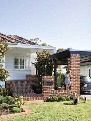 Guided by memory and nostalgia, the architect sought to make minimal disruption to the existing weatherboard cottage.