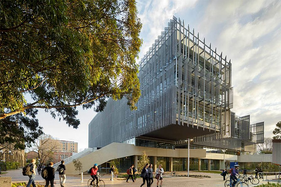 Melbourne School of Design by John Wardle Architects and NADAAA.