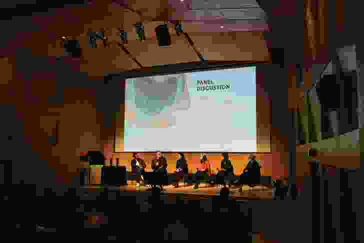 A provocative panel discussion traversed topics from the necessity of community engagement to landscape instrumentality.