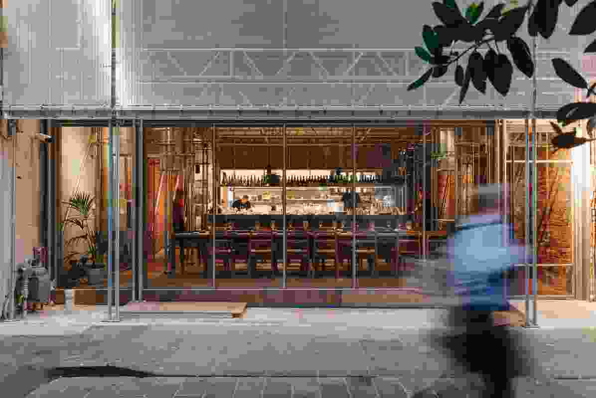 Sunda Bar and Restaurant by Kerstin Thompson Architects and Figureground Architecture.
