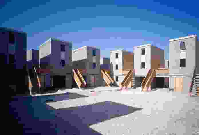 Quinta Monroy Housing, 2004, Iquique, Chile by Elemental.