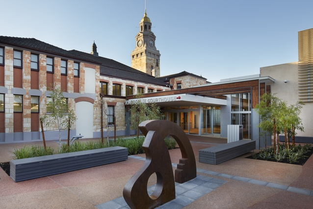 Kalgoorlie Courthouse by Hassell.
