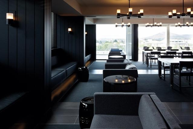 The Burbury Terrace function space on the top floor.