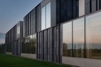 Super sustainable swimming pool boasts C2C tiled facade