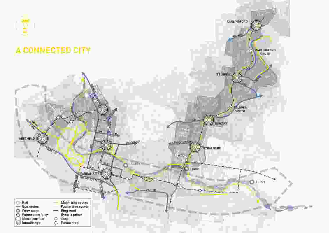 City of Parramatta submission to Parramatta Light Rail Stage 1 Environmental Impact Statement – City of Parramatta in collaboration with Richez Associes.
