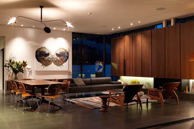 Formal living space.