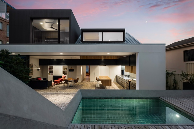 Folded House by MCK Architects.