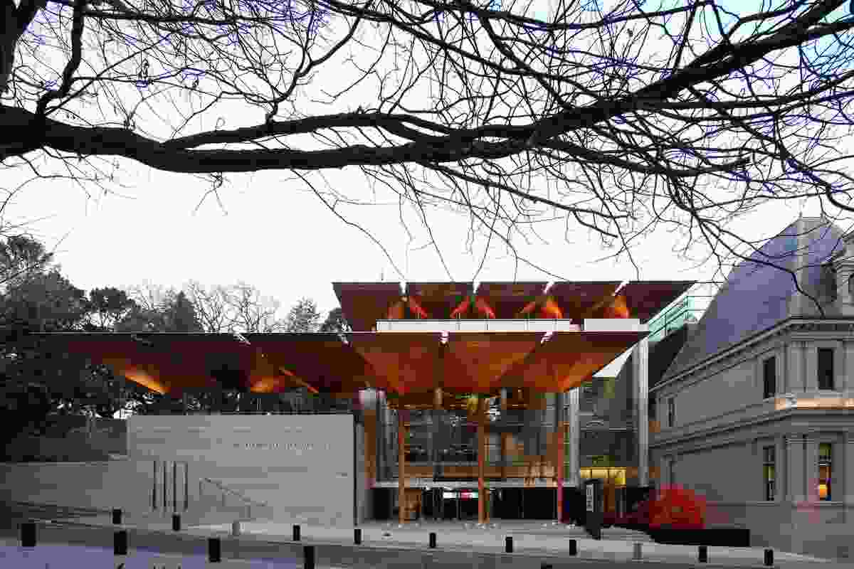 Jørn Utzon Award for International Architecture – Auckland Art Gallery Toi o Tāmaki by FJMT and Archimedia in association.