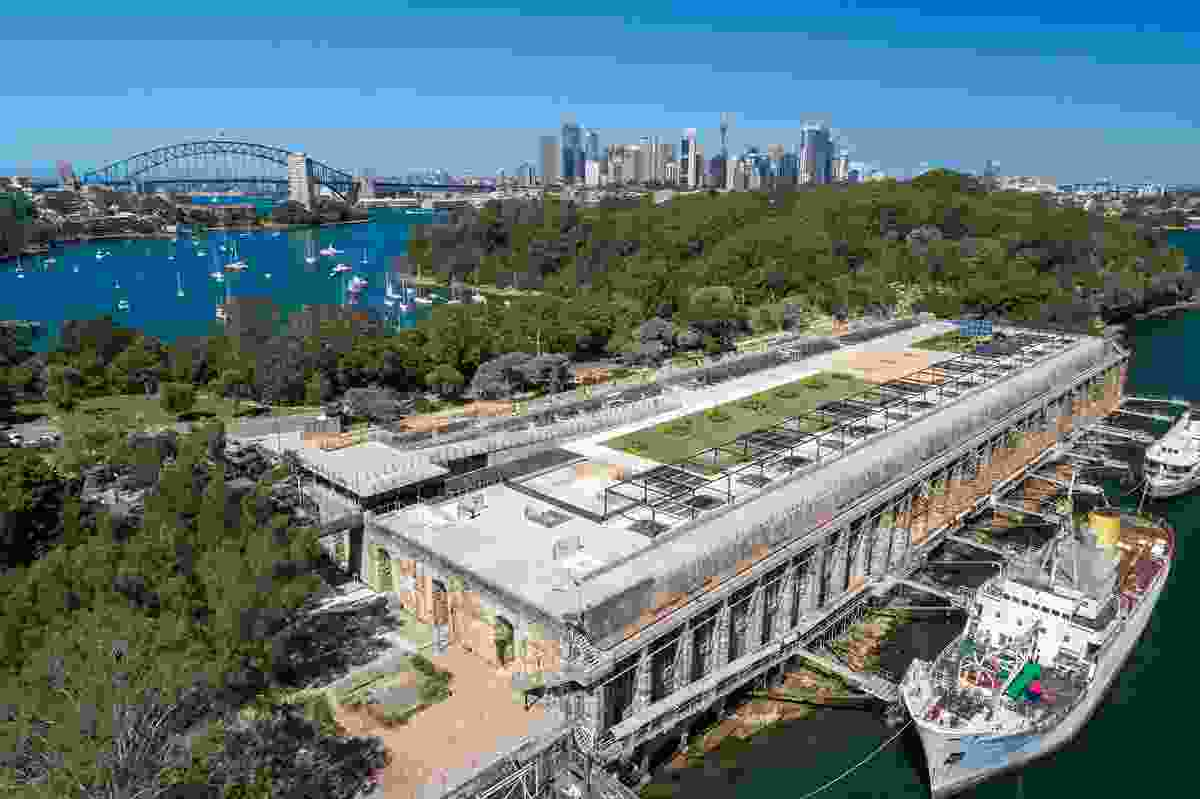 The Coal Loader Green Roof Platform – North Sydney Council.