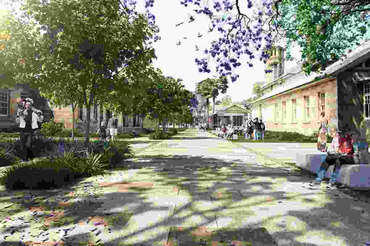The state government plan to develop the area incorporates the refurbishment of the heritage buildings, which planning minister Rob Stokes says needs to be done urgently.