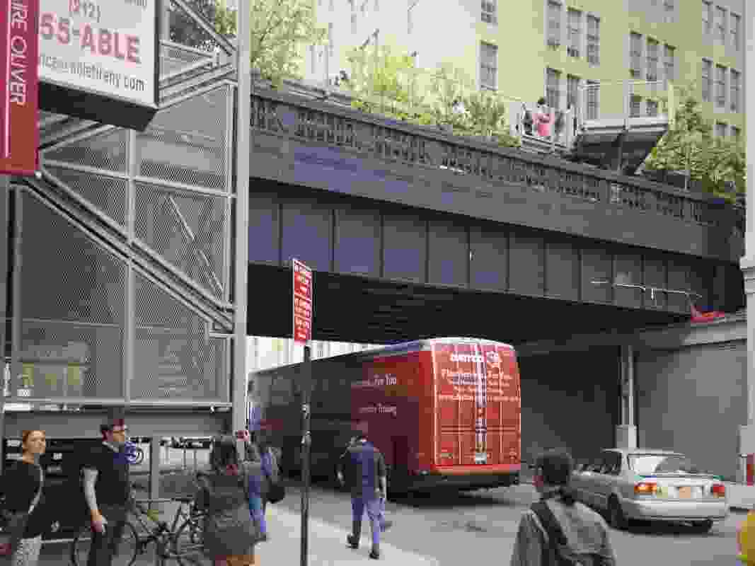 The High Line at West 26th Street.