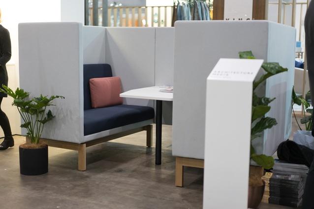 The Artichoke Business Lounge at Denfair 2018.