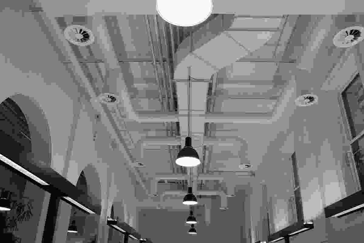DesignInc ceiling detail.