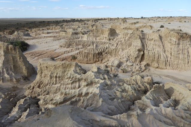 The landscape around Lake Mungo in south-western New South Wales.