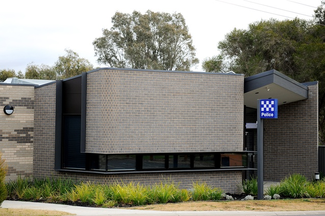 Pyalong Police Station (Vic) by Judd Lysenko Marshall Architects.