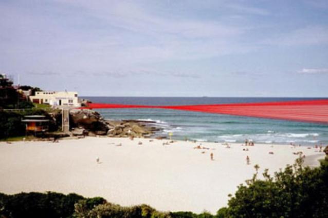 Lucy Humphrey <em>Woven Coast,</em> an unbuilt concept for 2010 <em>Sculpture by the Sea,</em> Bondi.